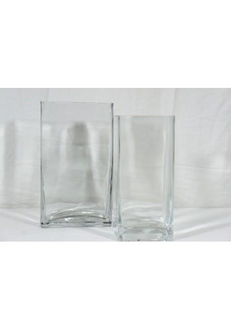 Rectángulo  de vidrio, varios tamaños
