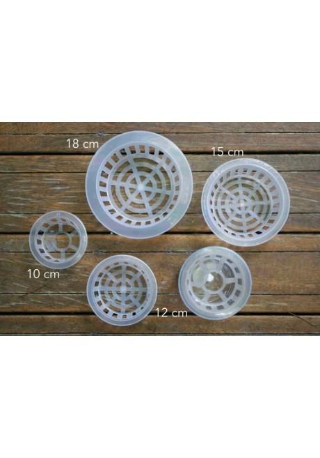 Base de plástico para arreglos, varios tamaños