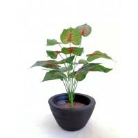 Hojas y plantas artificiales